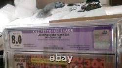 Amazing Spider-Man 300 CGC purple 8.0 Newsstand First Appearance Venom