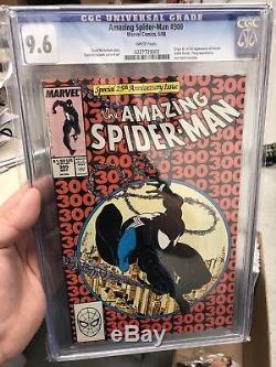 Amazing Spider-Man 300 First Venom Cgc 9.6 White Pages Todd McFarlane