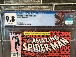 Amazing Spider-Man #300 (Marvel 1988 1st Venom) CGC 9.8 WHITE Pages 1st PRINT