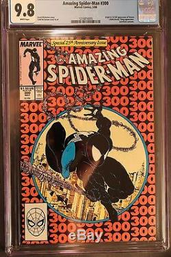 Amazing Spider-Man #300 McFarlane 1st Appearance of Venom White Pages CGC 9.8
