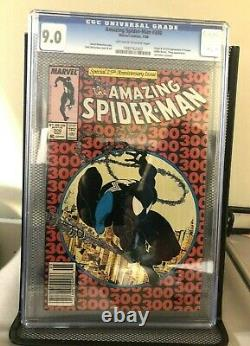 Amazing Spider-Man #300 Newsstand Ed CGC 9.0 Marvel 1st Full Appearance of Venom