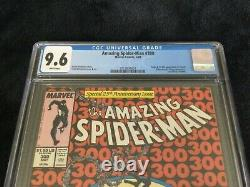 Amazing Spider-Man #300 white pages 9.6 CGC