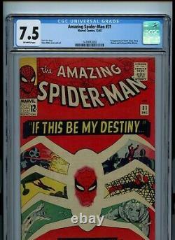 Amazing Spider-Man #31 (1965) CGC 7.5 1st Gwen Stacy & Harry Osborn