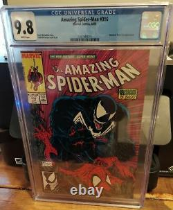 Amazing Spider-Man #316 CGC 9.8 White Pages McFarlane