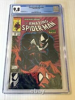 Amazing Spider-Man #316 CGC 9.8 White Pages McFarlane 1st Full Venom Cover