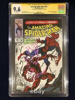 Amazing Spider-Man # 361 CGC 9.6 SS Signed & SKETCHED by Mark Bagley