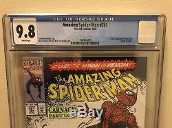 Amazing Spider-Man 361 CGC 9.8 NM/M White Pages 1st Full Appearance of Carnage