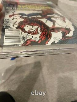 Amazing Spider-Man 361 CGC Graded 9.8 Newsstand Carnage Marvel Comics 1992