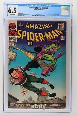 Amazing Spider-Man #39 Marvel 1966 CGC 6.5 Norman Osborn Revealed Green Goblin