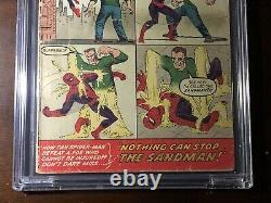Amazing Spider-Man #4 (1963) 1st Sandman! CBCS 2.5 (not CGC) Key