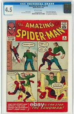 Amazing Spider-Man #4 CGC 4.5