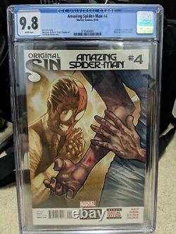 Amazing Spider-Man #4 CGC 9.8 1st Full Appearance Silk 2014 Marvel Comics