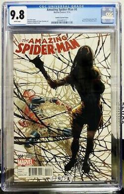 Amazing Spider-Man 4 CGC 9.8 Humberto Ramos Variant 1st Appearance of Silk
