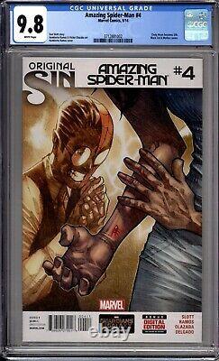 Amazing Spider-Man 4 CGC Graded 9.8 NM/MT 1st Silk Marvel Comics 2014