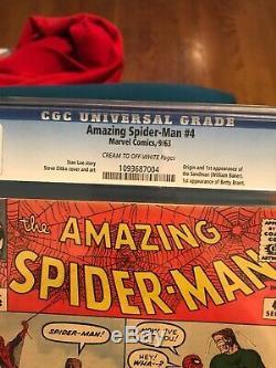 Amazing Spider Man 4 First Sandman Cgc 6.0