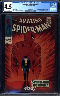 Amazing Spider-Man # 50 (1967) CGC 4.5 1st Kingpin Classic Cover