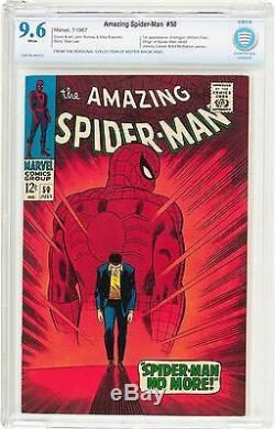 Amazing Spider-Man #50 CBCS 9.6 1967 1st Kingpin! White! NM+! Like CGC! G8 cm