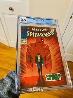 Amazing Spider-Man 50 CGC 3.5 1st APP of KINGPIN! WORLDWIDE SHIPPING