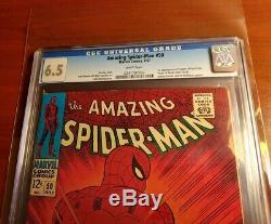 Amazing Spider-Man #50 CGC 6.5 White Pages! 1st Kingpin