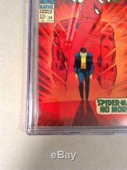 Amazing Spider-Man #50 CGC 9.0 VF/NM OWithW 1st KINGPIN (Wilson Fisk)Classic Cover