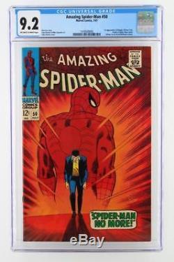 Amazing Spider-Man #50 -NEAR MINT- CGC 9.2 NM- Marvel 1967 1st App of Kingpin