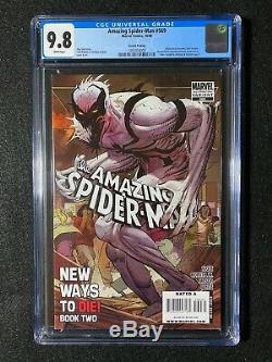 Amazing Spider-Man #569 CGC 9.8 (2008) 2nd Printing Brock becomes Anti-Venom