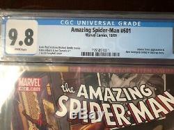 Amazing Spider-Man #601 CGC 9.8 J. Scott Campbell Cover 10/09