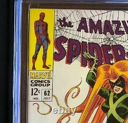 Amazing Spider-Man #62 CGC 9.8 1 of Only 62! Medusa Cover Marvel 1968