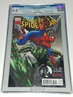 Amazing Spider-Man #654 1st Print CGC 9.8 NM/MT Marvel 2011 Flash Agent Venom
