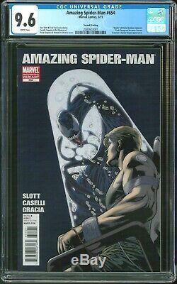 Amazing Spider-Man 654 CGC 9.6 (2nd Printing Variant Agent Venom)