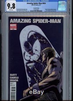 Amazing Spider-Man #654 (Marvel, 2011) 2nd Print CGC 9.8 HTF in grade