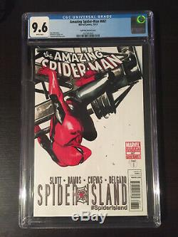 Amazing Spider-Man 667 Dell'Otto variant cover 1100 CGC 9.6 Very Hard to Find