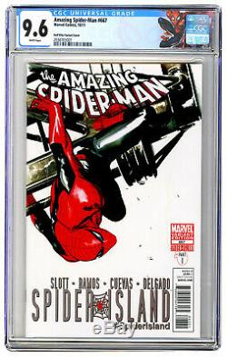 Amazing Spider-Man #667 Gabriele Dell'Otto Variant CGC 9.6 Unpressed MARVEL 2011