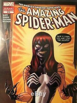 Amazing Spider-Man #678 CGC 9.4 Venom Variant 3/12 Joe Quinones Cover