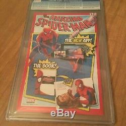 Amazing Spider-Man #678 CGC 9.6 Venom Variant 3/12 Joe Quinones Cover (RARE)
