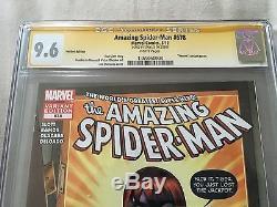 Amazing Spider-Man #678 Venom Variant 9.6 CGC Signature Series Stan Lee