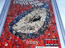 Amazing Spider-Man #700 CGC SS 9.8 Dual Signature Autograph STAN LEE & RAMOS