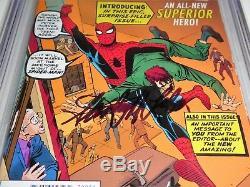Amazing Spider-Man #700 CGC SS 9.8 Signed STANLEY MARTIN LIEBER STAN LEE BDAY 91
