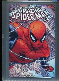 Amazing Spider-Man #700 (Quesada variant) CGC 9.8 WP (Death of Peter Parker)