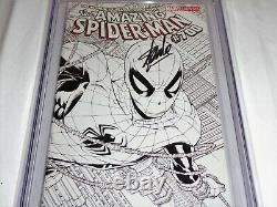 Amazing Spider-Man #700 Sketch Variant CGC SS Signature Autograph STAN LEE Death