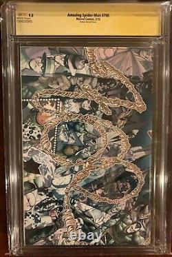 Amazing Spider-Man 700H Ramos CGC SS 9.8 Signed 3x STAN LEE, Ramos, Campbell