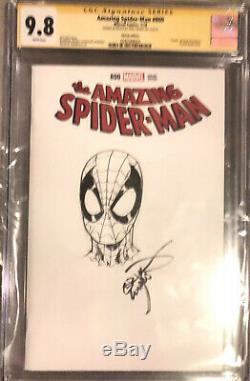 Amazing Spider-Man #800 CGC 9.8 SS Sketch Cover By Erik Larsen Savage Dragon
