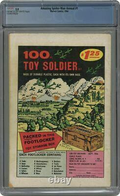 Amazing Spider-Man Annual #1 CGC 2.0 MCU 1964 1st app. Sinister Six Spiderman
