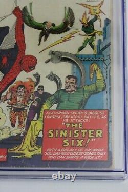 Amazing Spider-Man Annual #1 CGC 2.5 (Marvel)