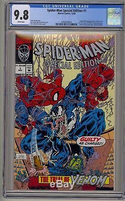 Amazing Spider-Man Special Edition 1 CGC 9.8 Trial Of Venom Eddie Brock UNICEF