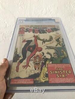 Amazing Spider-Man annual #1 CGC