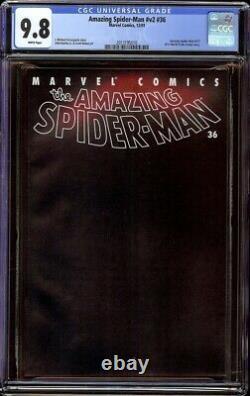 Amazing Spider-Man v2 # 36 CGC 9.8 White (Marvel, 2001) Sept. 11 Tribute