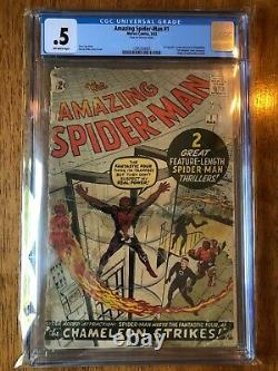Amazing Spider-man #1 (1963) Cgc. 5 Complete. Off-white Pages
