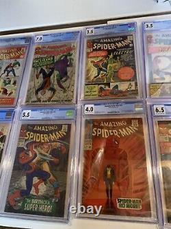 Amazing Spider-man 1 2 3 4 5 6 7 8 9 10 11 12 13-50 All Cgc 4.0 5.0 6.0 7.0 8.0