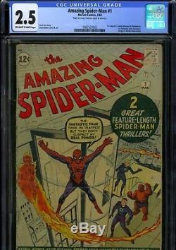Amazing Spider-man 1 CGC 1st Chameleon